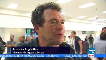 Antonio Argüelles, primer mexicano en cruzar 'Los siete mares'