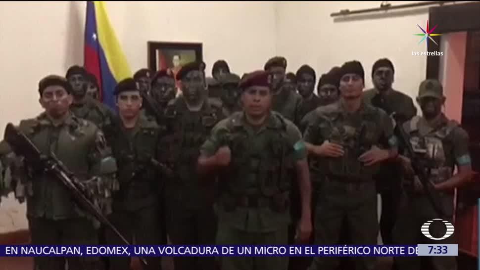 Sublevan Militares Gobierno Nicolás Maduro