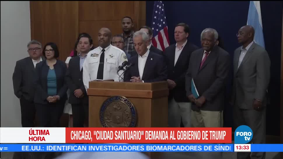 Chicago Ciudad Santuario Demanda Gobierno Trump