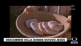 Descubren Villa Jesus Multiplico Peces Panes Arqueologos Israelies
