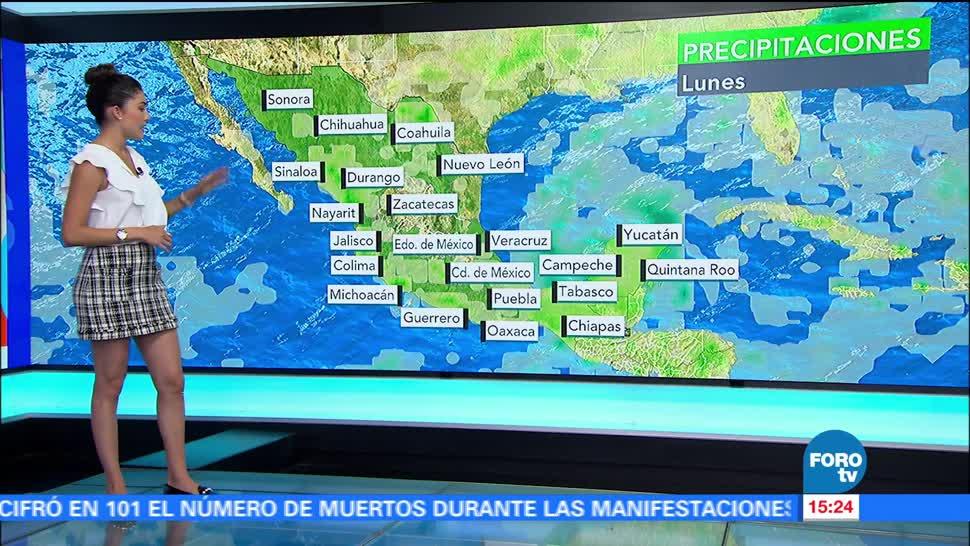 Clima Tres Daniela Alvarez Noticias Alerta Naranja Tormenta Tropical Franklin