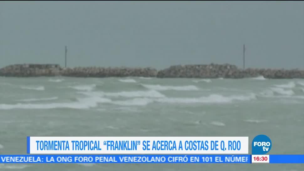 Acerca Franklin Q. Roo Alerta Naranja Tormenta Tropical