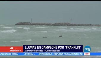 Campeche Alista Llegada Franklin Autoridades Habitantes Tormenta Tropical