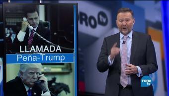Llamada entre Peña Nieto Donald Trump