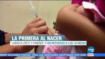 Reportan Escasez Vacuna Hepatitis B