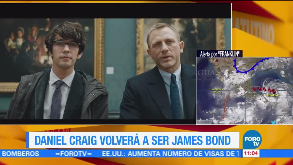 Daniel Craig Volverá Interpretar James Bond