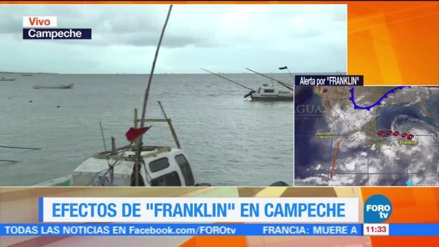 Llegan, lluvias, Franklin, Calakmul