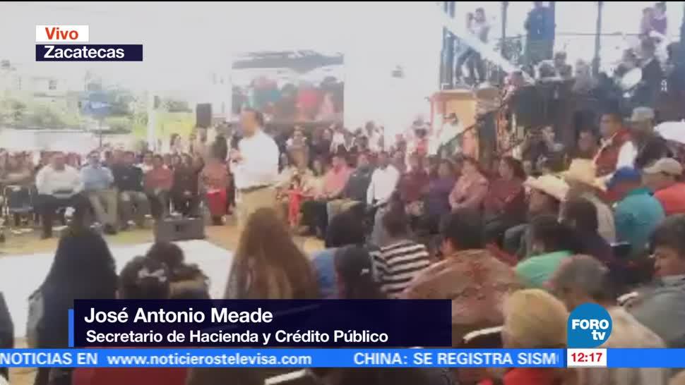 Meade, presenta, apoyos, migrantes