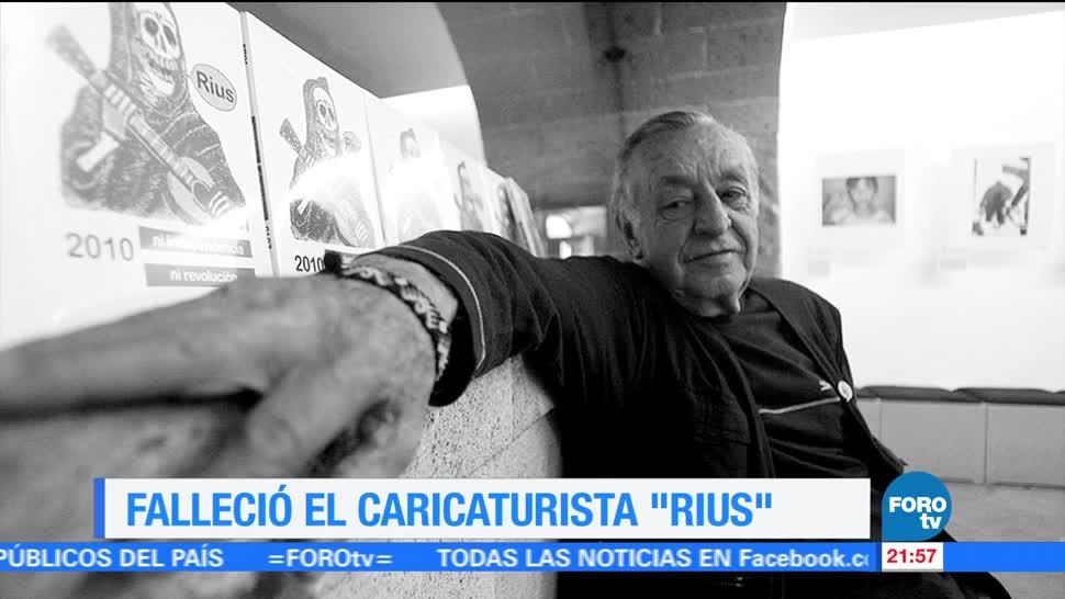 Rius, una tradición caricaturista en México