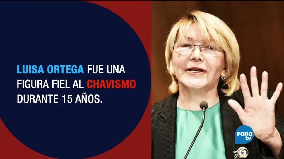 Luisa Ortega, nueva fiscal general Venezuela