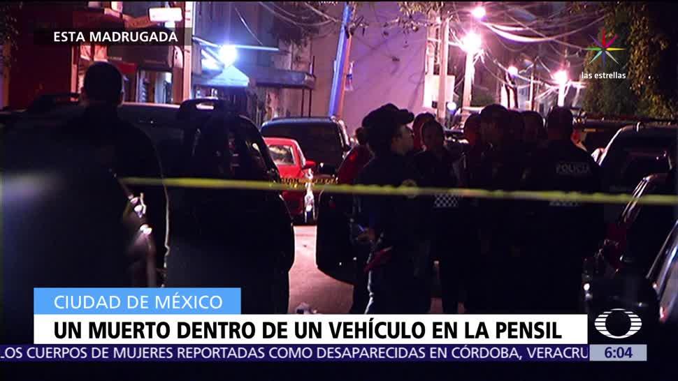 heridos, bala, muerto, CDMX