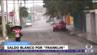 Tormenta, Franklin, Península, Yucatán