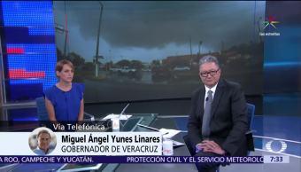 Gobernador, Veracruz, tormenta, Franklin