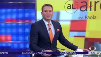 Al aire, Paola Rojas, Programa, agosto