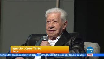 Ignacio López Tarso, alista, obra, teatro