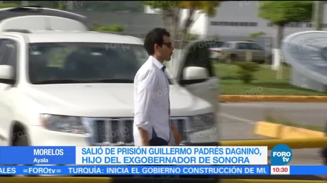 Imágenes Salida Prisión Guillermo Padrés Dagnino