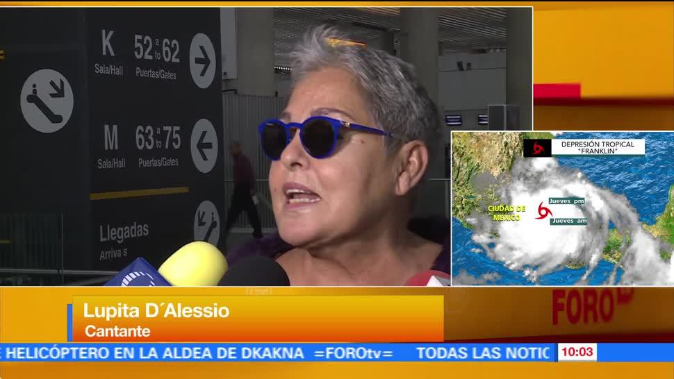 Lupita D'Alessio Saca Garras Bioserie