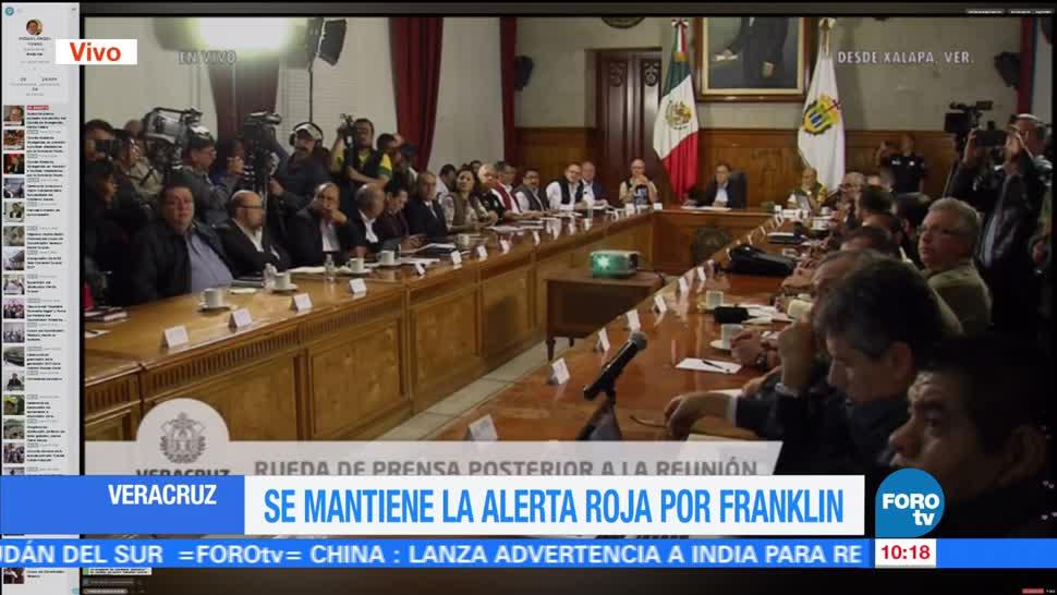 Veracruz, alerta, tormenta, Franklin