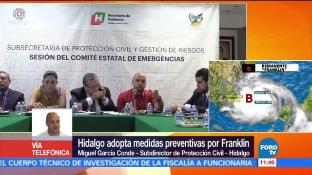Saldo blanco, paso, Franklin, Hidalgo
