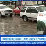 Franklin grandes encharcamientos en Tulancingo Hidalgo