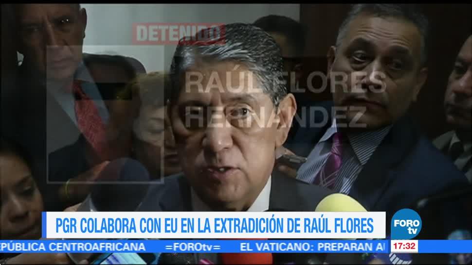PGR cooperación justicia EU Raúl Flores