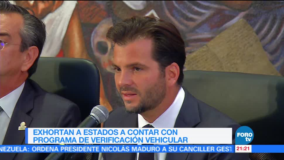Exhortan a estados mexicanos a contar con programa de verificación vehicular