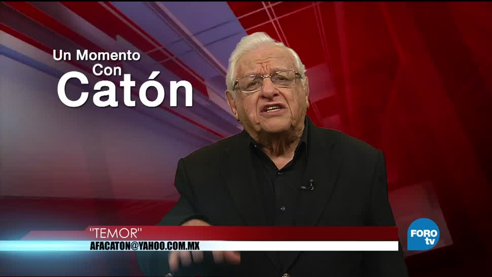 Un momento con Armando Fuentes 'Catón' del 10 de agosto