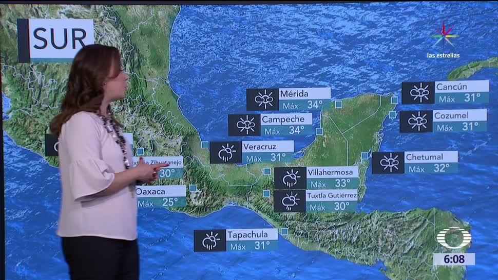 Ondas tropicales provocarán lluvias México