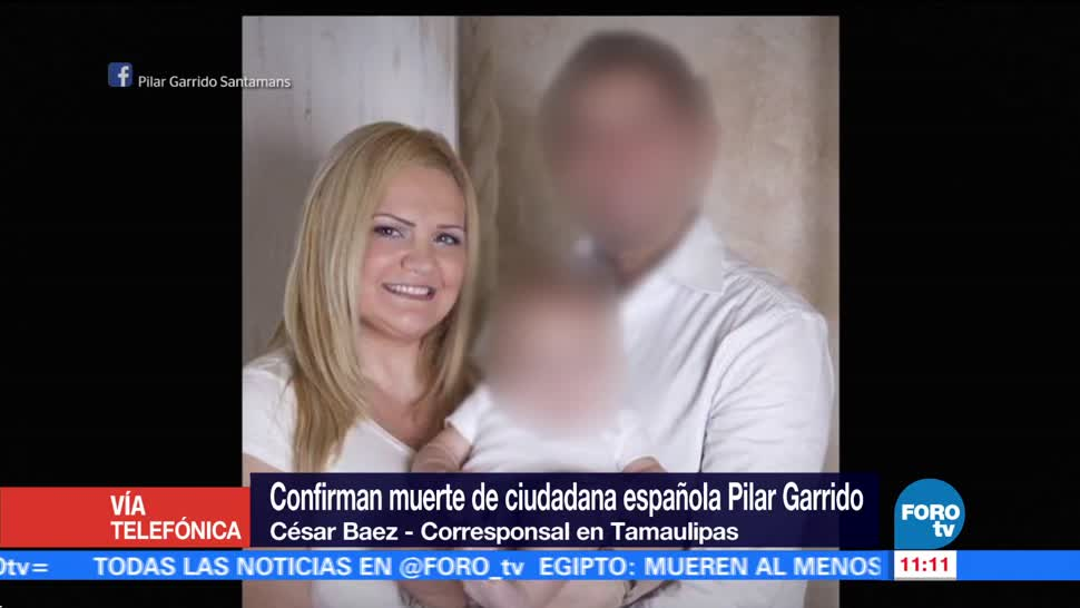 Gobierno Tamaulipas confirma muerte Pilar Garrido