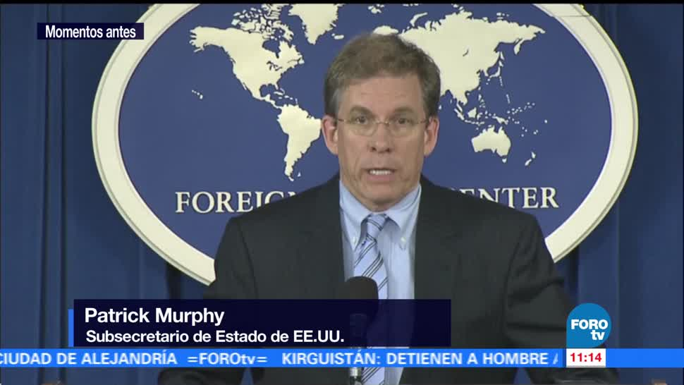 Países apoyo EU amenazas Patrick Murphy