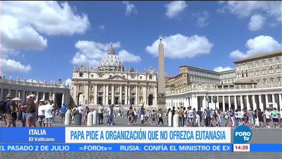 Papa Congregacion Belga Prohiba Eutanasia Francisco