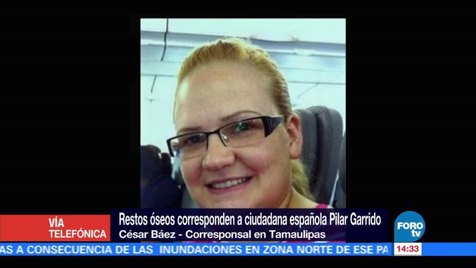 Confirman Muerte Española Pilar Garrido Autoridades Tamaulipas