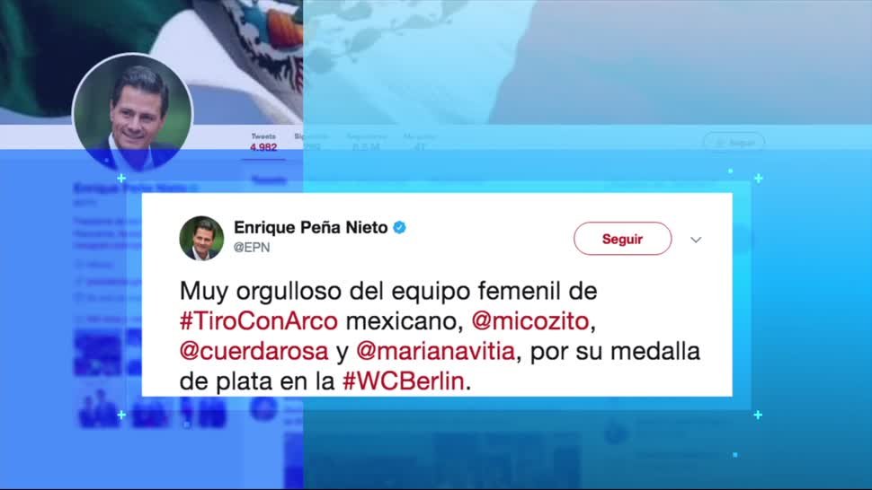 Peña Nieto Felicita Deportistas Mexicanas Triunfos Twitter