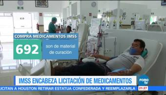 IMSS encabeza licitación de medicamentos historia