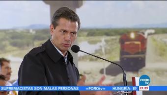 Peña Nieto destaca inversión extranjera México