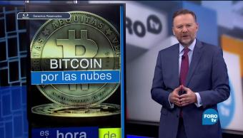 Bitcoin por las nubes moneda digital