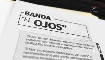 Policías mando El Ojos amenazaban jefes