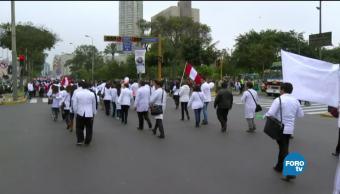 La crisis educativa paraliza a Perú