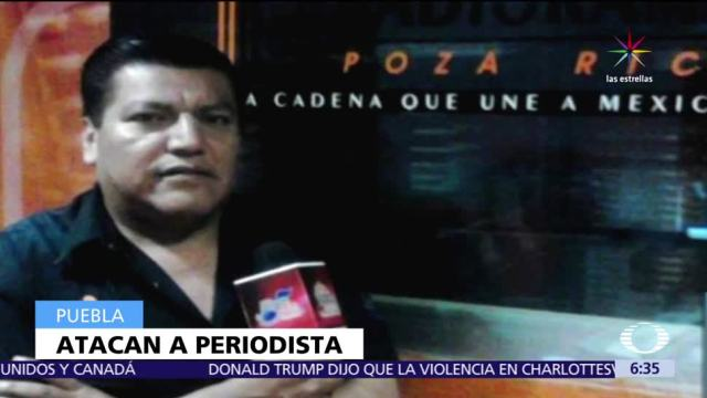 Atacan Periodista Eleazar Morales Salas Puebla
