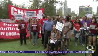 Marchan, Nueva York, apoyo, inmigrantes