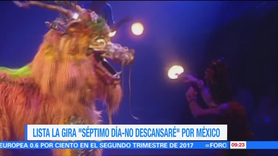 Cirque du Soleil, lista, gira, Sép7imo