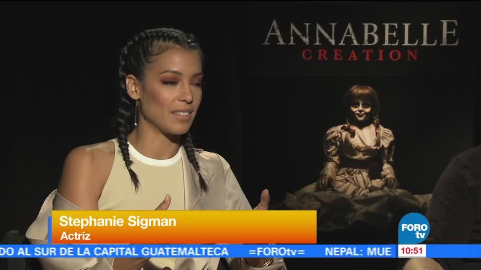 Stephanie Sigman Habla Papel Annabelle 2