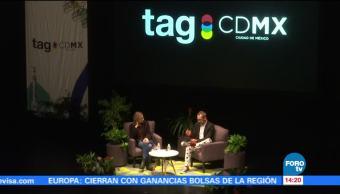 Asistentes TAG-CDMX aguardan conferencia Edward Snowden