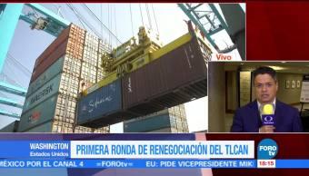 Renegociación TLCAN podría darse 8 sesiones
