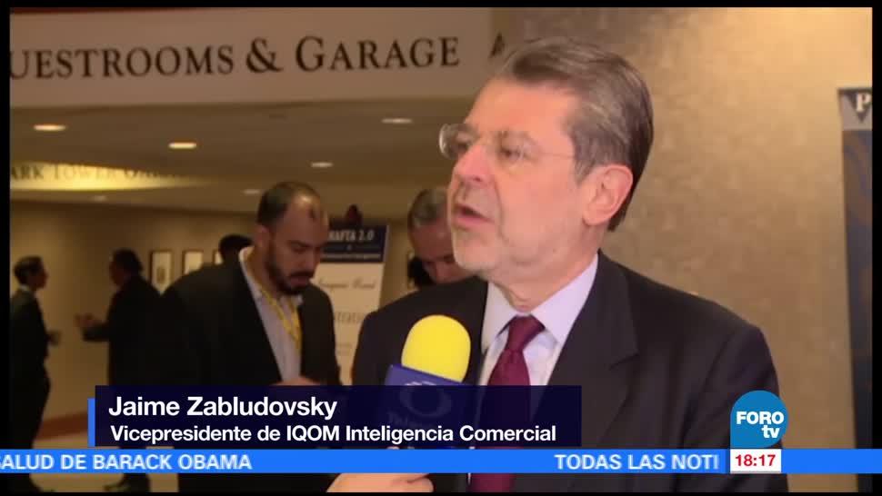 Destaca Zabludovsky fortaleza de México en la renegociación del TLCAN