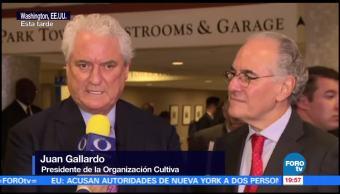 Los intereses de los tres países están en juego: Juan Gallardo
