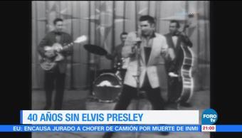 Efeméride En Una Hora Muerte de Elvis Presley