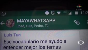 Nueva herramienta enseñarán maya por WhatsApp