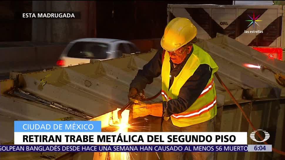 Retiran Estructura Metálica Segundo Piso