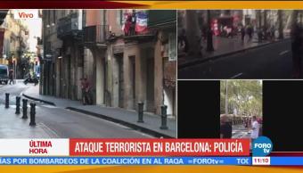 Policía Investiga Atropellamiento Las Ramblas